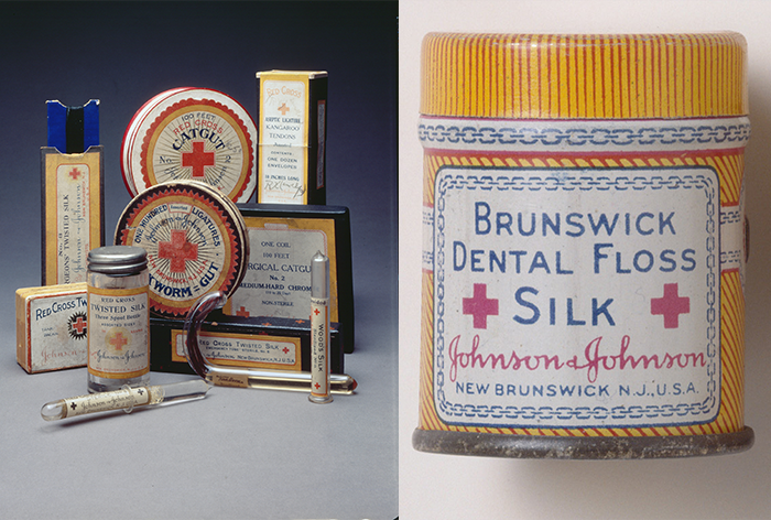 Johnson & Johnson Sutures, Including Those Made From Silk, and Brunswick Dental Floss